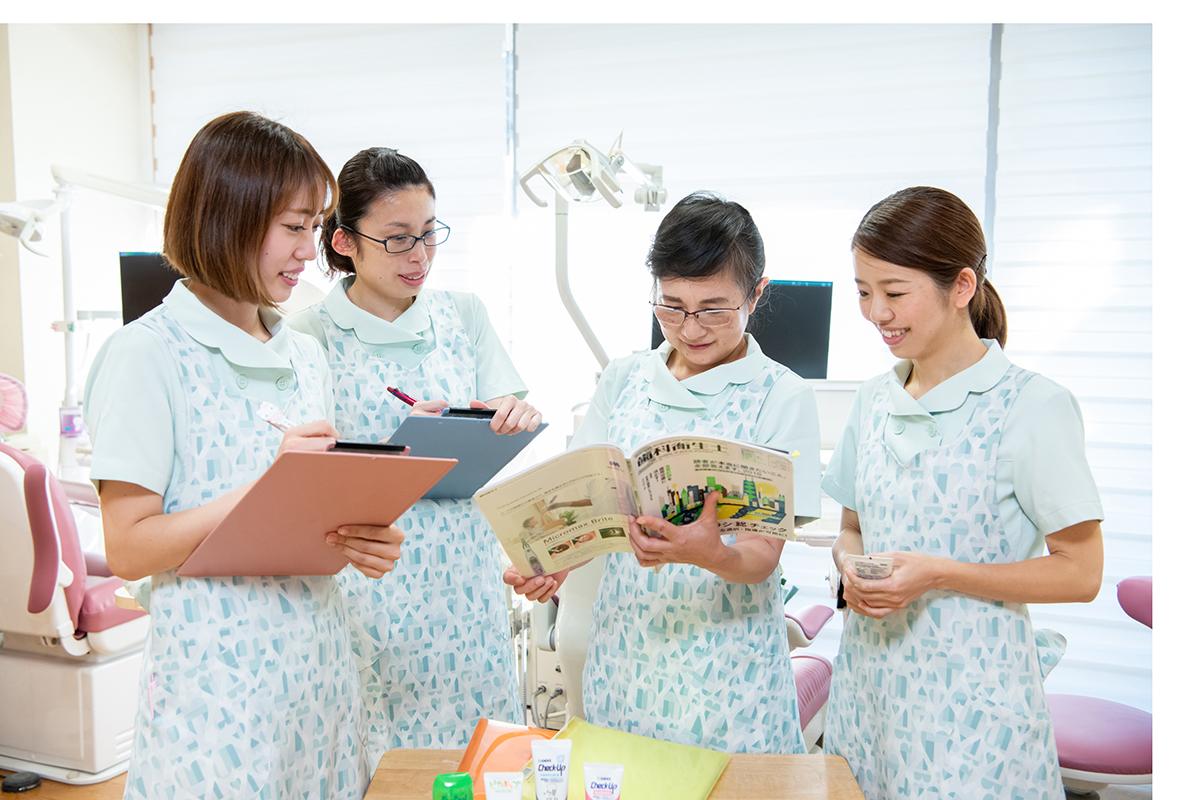 担当衛生士による定期的な予防治療